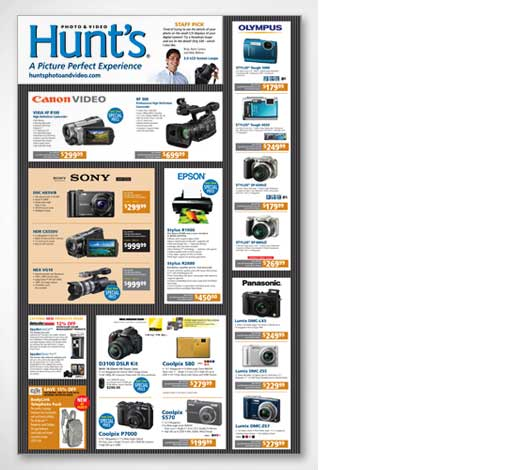 Hunts Photo and Video Mailer